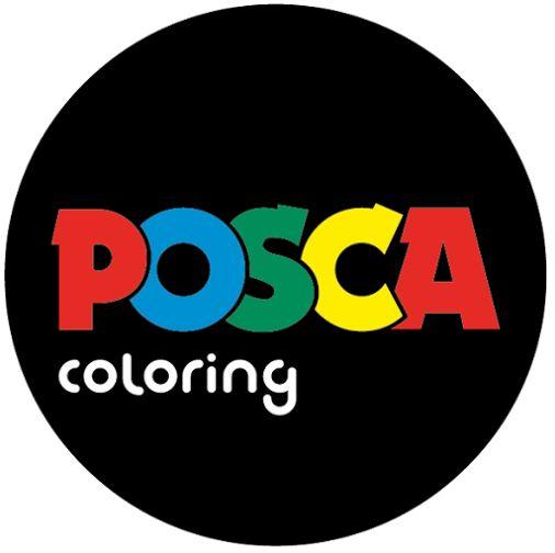 Posca Coloring